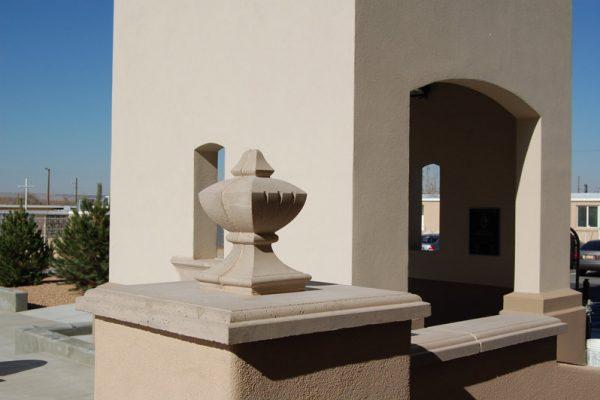 Ornate-Precast-Concrete-Construction-San-Jose-Parish